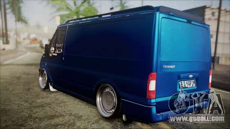 B. O. Ford Transit Construction for GTA San Andreas left view