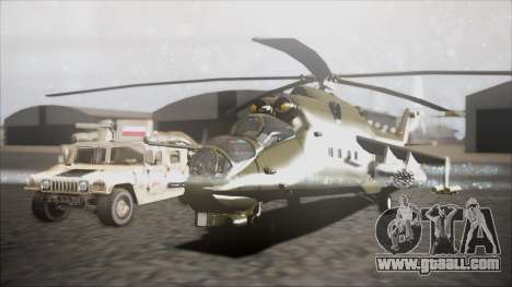Mil Mi-24W Polish Land Forces for GTA San Andreas