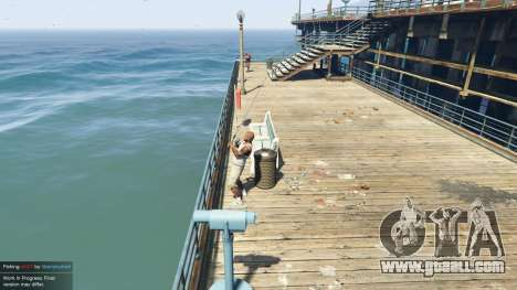 Fishing Mod 0.2.7 BETA for GTA 5