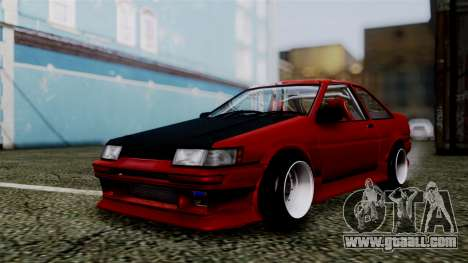 Toyota AE86C for GTA San Andreas