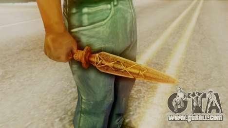 Ceremonial Dagger for GTA San Andreas second screenshot