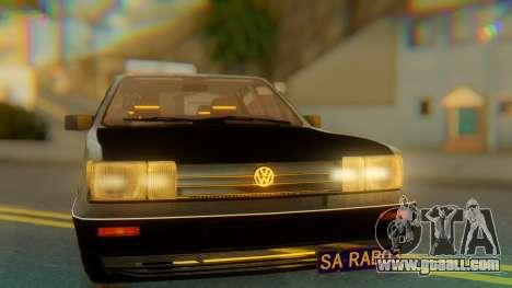 Volkswagen Santana Gz for GTA San Andreas back view