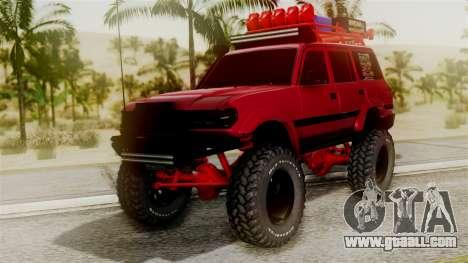 Burbuja Off Road for GTA San Andreas