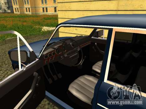 VAZ 21065 for GTA San Andreas back view