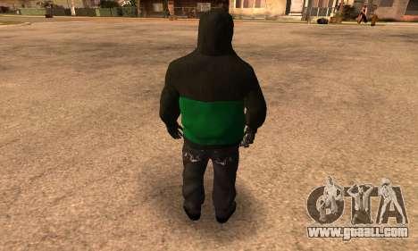 Fam Black for GTA San Andreas third screenshot