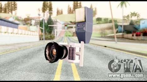 The camera for GTA San Andreas