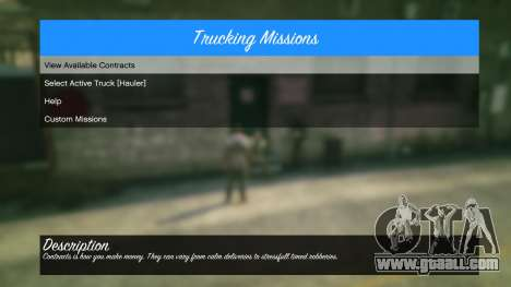 GTA 5 Trucking Missions 1.5 sixth screenshot