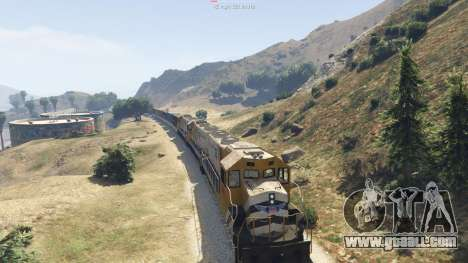 GTA 5 Improved freight train 3.8 sixth screenshot