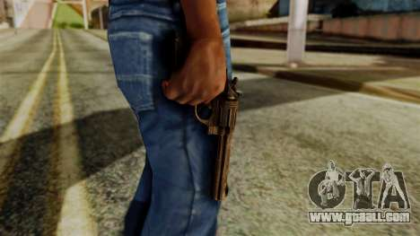 Colt Revolver from Silent Hill Downpour v1 for GTA San Andreas third screenshot