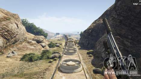 Improved freight train 3.8 for GTA 5
