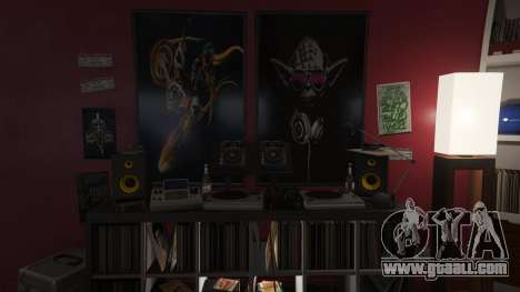 GTA 5 Star Wars Posters for Franklins House 0.5 eighth screenshot