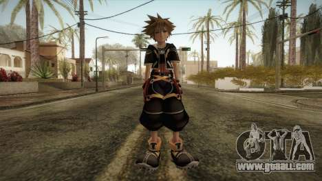 Kingdom Hearts 2 - Sora for GTA San Andreas second screenshot