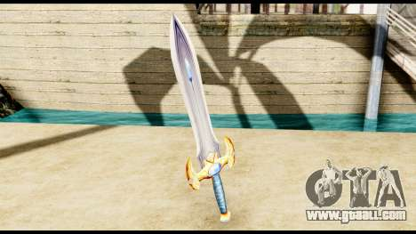 Sword paladin for GTA San Andreas