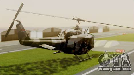 Bell UH-1 Paraguay for GTA San Andreas left view
