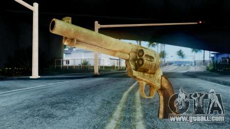 Red Dead Redemption Revolver Cattleman Sergio for GTA San Andreas