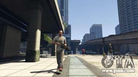 GTA 5 Gears of War Lancer 1.0.0 ninth screenshot