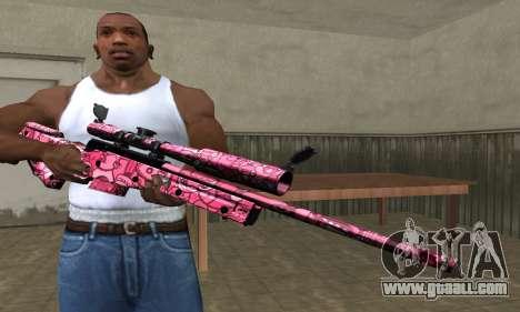 Lamen Sniper for GTA San Andreas