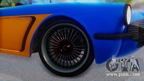 Invetero Coquette BlackFin v2 SA Plate for GTA San Andreas back left view