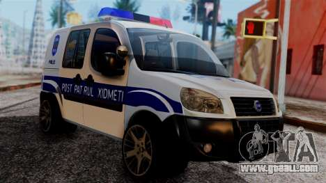 Fiat Doblo PPX for GTA San Andreas