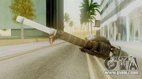 Ghostbuster Proton Gun for GTA San Andreas