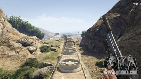 GTA 5 Improved freight train 3.8 eighth screenshot