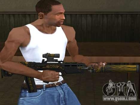 GTA 5 M4 for GTA San Andreas second screenshot