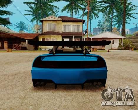 Infernus Lamborghini for GTA San Andreas inner view