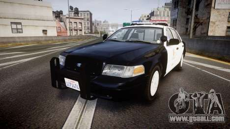 Ford Crown Victoria 2011 LAPD [ELS] rims1 for GTA 4