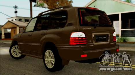 Toyota Land Cruiser Cygnus for GTA San Andreas left view
