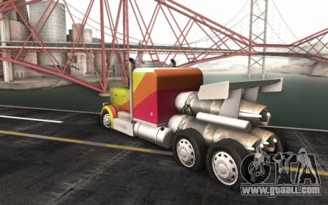 ShockWave Jet Truck for GTA San Andreas left view