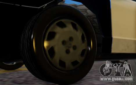 Ford Crown Victoria LSPD for GTA San Andreas back left view