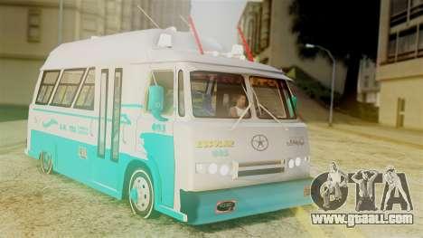 JAC Microbus for GTA San Andreas