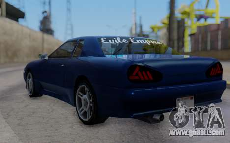 Elegy New SWZ for GTA San Andreas left view