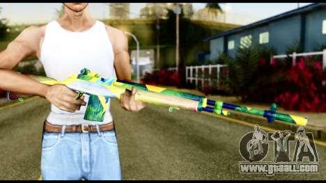 Brasileiro Rifle for GTA San Andreas third screenshot