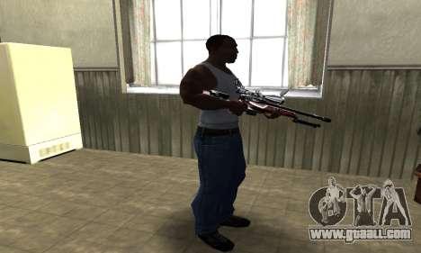 Redl Sniper Rifle for GTA San Andreas third screenshot