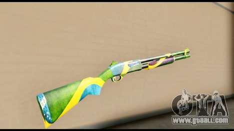 Brasileiro Shotgun for GTA San Andreas second screenshot