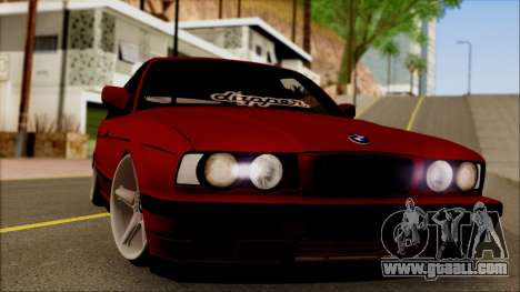 BMW M5 Touring E34 for GTA San Andreas back left view