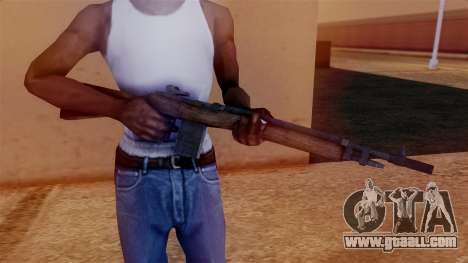 M14 Assault Rifle for GTA San Andreas third screenshot