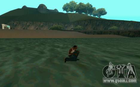 Walking on water for GTA San Andreas third screenshot