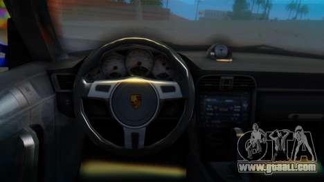 Porsche 911 2010 Cabrio for GTA San Andreas right view