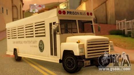 Prison Bus for GTA San Andreas