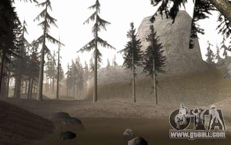 A copy of the original trees for GTA San Andreas third screenshot