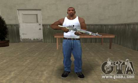Military Rifle for GTA San Andreas third screenshot