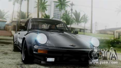Porsche 911 Turbo (930) 1985 Kit C for GTA San Andreas upper view