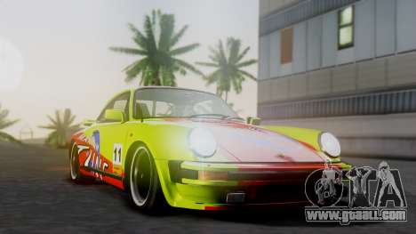 Porsche 911 Turbo (930) 1985 Kit A for GTA San Andreas back view