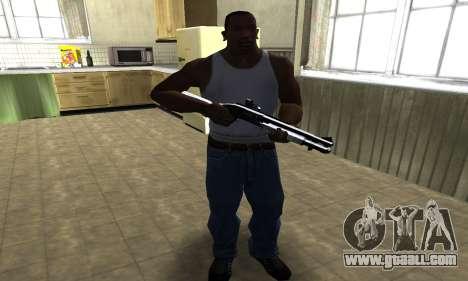 Black Shotgun for GTA San Andreas third screenshot