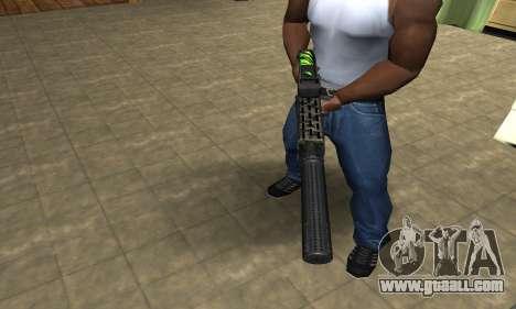 SPAS-12 Green Lines for GTA San Andreas second screenshot