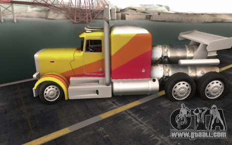 ShockWave Jet Truck for GTA San Andreas back view