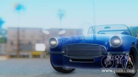Invetero Coquette BlackFin Convertible for GTA San Andreas right view