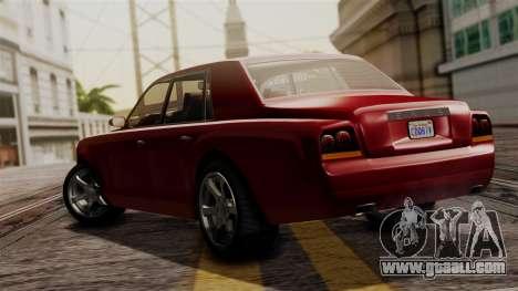 GTA 5 Enus Super Diamond IVF for GTA San Andreas left view